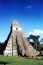 Photo: Tical -Świątynia IV / Temple number IV