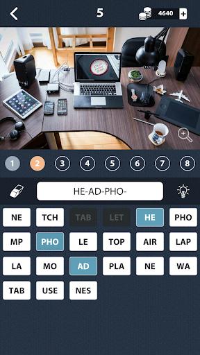 1 Photo Word Apart: collect all the hidden words! screenshot