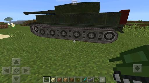 Big Tank Mod for MCPE  screenshots 1