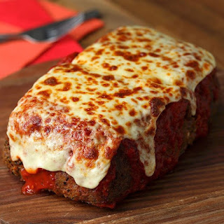 Lasagna Stuffed Meatloaf.