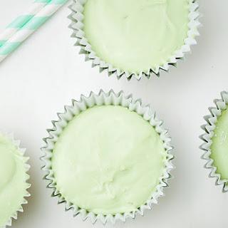 No Bake Mini Green Tea Cheesecakes