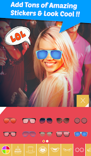 StickonPic Photo booth editor Screenshot