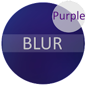 Blur Purple - CM13/12.1 Theme