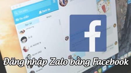 Các bước đăng nhập bằng Facebook