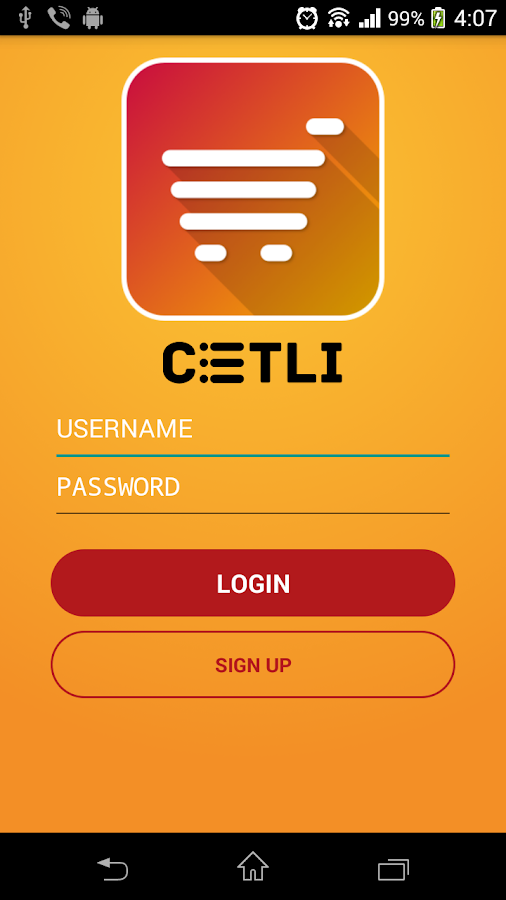 Cetli- screenshot