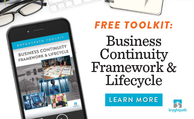 Click here to get your copy of the Bryghtpath Business Continuity Framework