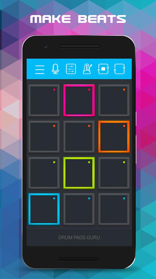 drum pads guru android apps on google play. Black Bedroom Furniture Sets. Home Design Ideas