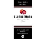 Bloedlemoen Gin & Sushi Tasting : Blos Cafe