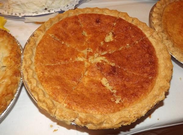 Moms Chess Pie Recipe