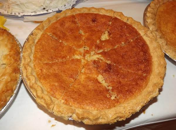 Moms Chess Pie Recipe