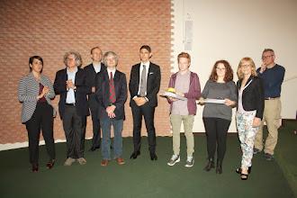"""Photo: Piccolo Agone Placidiano 2015: Vincitori per il Liceo Classico """"Marco Foscarini"""" di Venezia: Lorenzo Banchieri (2° anno), Camilla Padovan (4° anno)"""