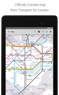 Tube Map London Underground Screenshot 15