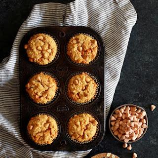 Pumpkin Butterscotch Oatmeal Muffins.