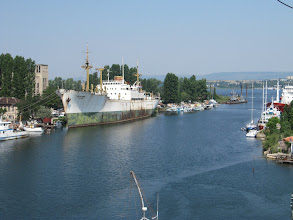 Photo: Day 93 - Old Ship on the Inlet in Varna