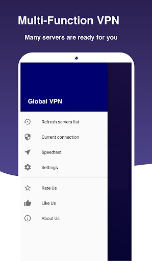 Global VPN screenshot 1