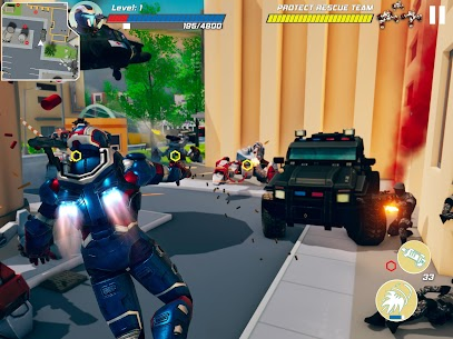Iron Avenger – Infinite Warfare RPG Apk  Download For Android 7