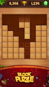 Wood Block Puzzle 35.0 Mod + Data for Android 1
