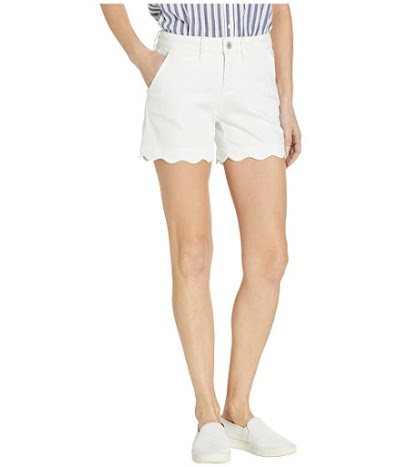 Imbracaminte Femei Jag Jeans 5quot Theo Twill Shorts White