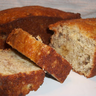 Easy Banana Bread using a Boxed Cake Mix.