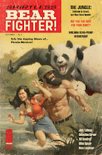 Photo: SHIRTLESS BEAR-FIGHTER #4 (variant cover). 2017. Gouache & Photoshop on bristol board, 11 × 17″.