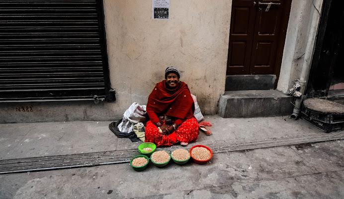 Kathmandu street life di marco loss