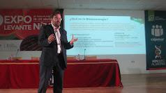 David Iglesias en la conferencia sobre la biotecnología