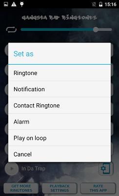 Gangsta Rap Ringtones - screenshot