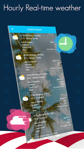 Weather today - Live Weather Forecast Apps 2020 13.0 Screenshots 3