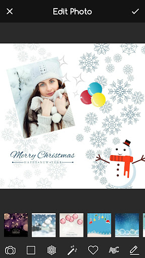 Christmas Photo Editor, Stickers & Collage Maker 3.3 screenshots 1