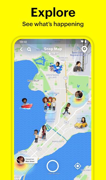 Screenshot - Snapchat