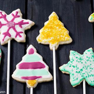 Vanilla Bean Cookie Pops Recipe