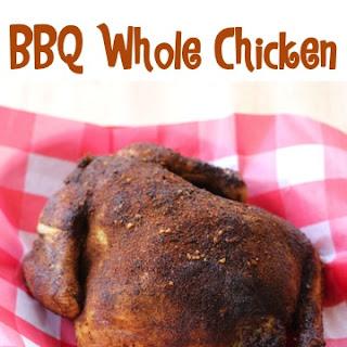 Crockpot BBQ Whole Chicken Recipe!