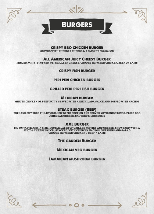 The Grill House menu 13