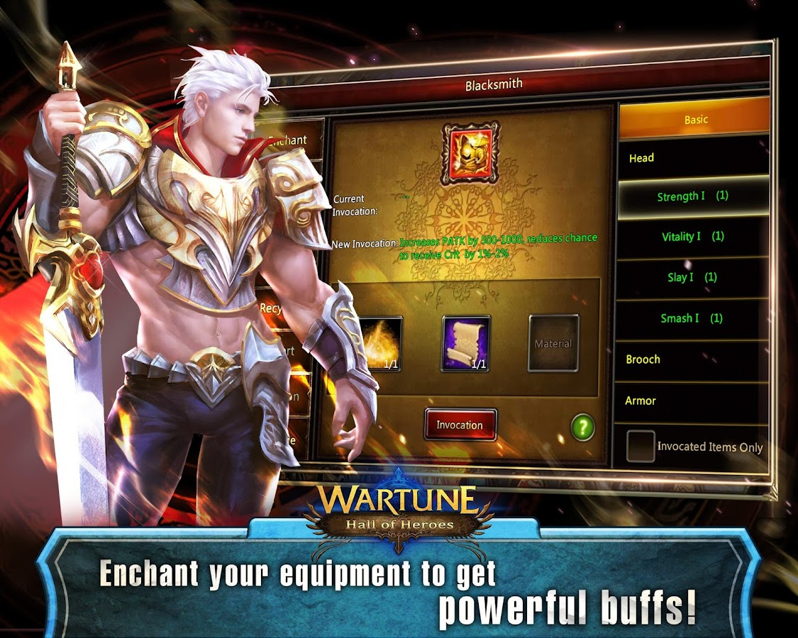 how to play wartune on android