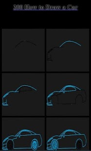 200 How to Draw a Car - náhled