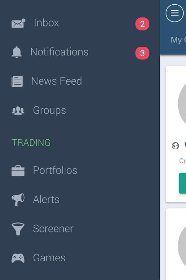 Investfly- screenshot