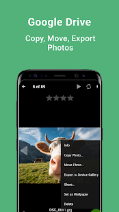 gFolio - Photo Gallery and Slideshows Screenshot