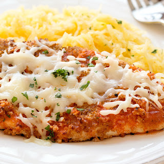 HG's Buff Chick Parm with Spaghetti Squash