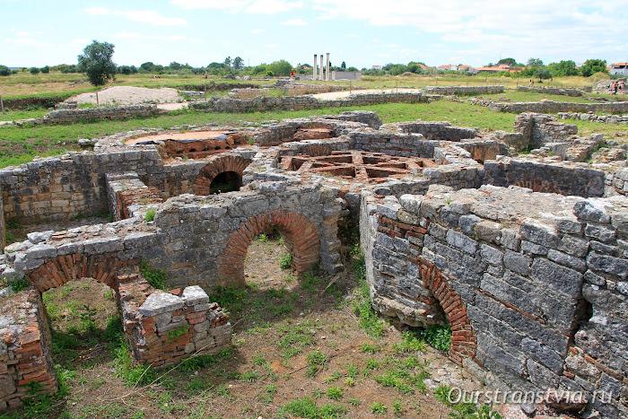 Конимбрига - архелогические памятники Португалии