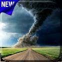Tornado Video Live Wallpaper icon