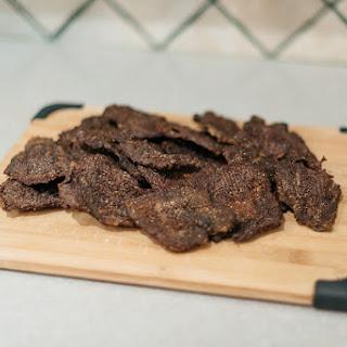 Simple DIY Beef Jerky.