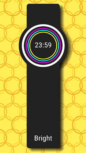 Ring Clock Watch Face