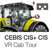 CLAAS CEBIS / CIS+ / CIS VR Cab Tour