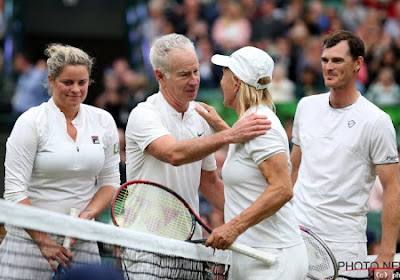 Venus Williams haalt het maar nipt van Kim Clijsters in galamatch