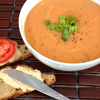 Tomato Lentil Soup with Cumin and Fresh Dill gluten-free, soy-free, nut-free, oil-free.