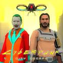 Cyberpunk City Escape. Neighbor Sci-Fi Survival 3D icon