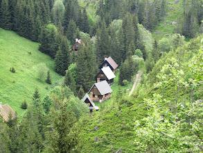 Photo: 13.Urocze chałupki w dolinie.