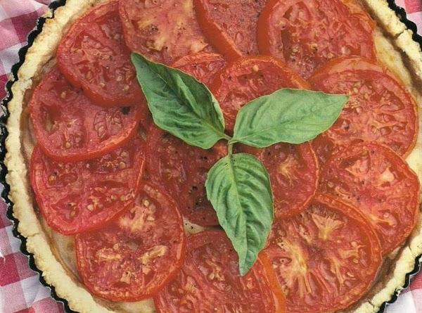 Sweet Tomato Mustard Tart Recipe