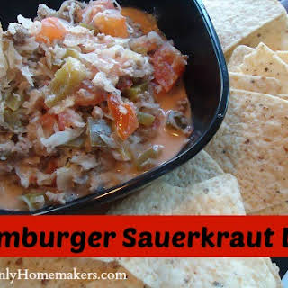 Hamburger Sauerkraut Dip.