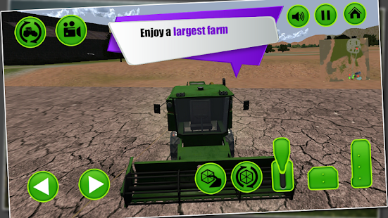 Farm Harvest Tractor Simulator- screenshot thumbnail